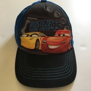 Disney Cars 3 Lightning McQueen baseball cap - EUC